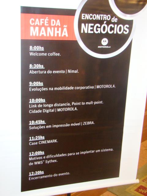 Evento Nimal agosto – 2009 – realizado no Antigo hotel JJ Marriott – Copacabana – RJ